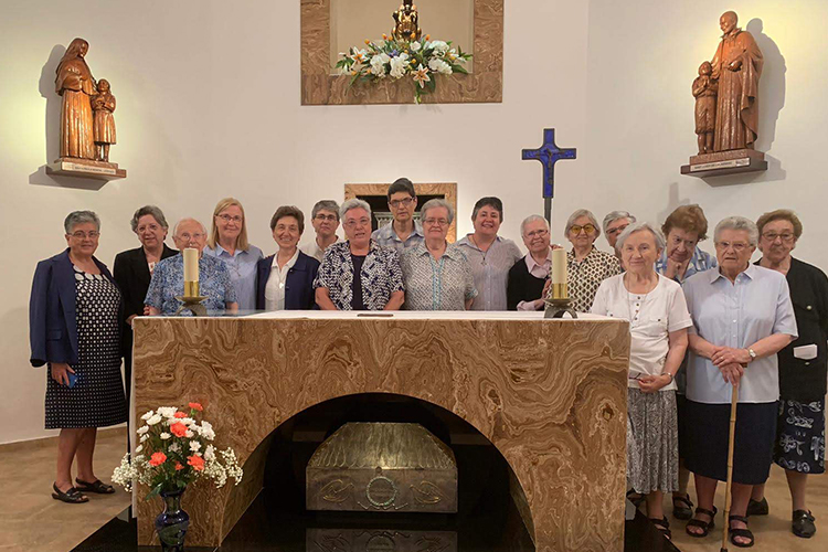 Toma de posesión de la Congregación Provincial