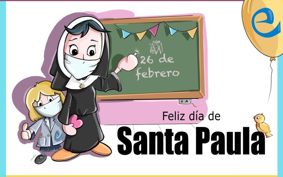 Feliz día de Madre Paula